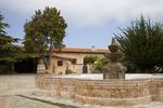 Fountain, Inner Courtyard, Mission San Carlos Borromeo del Rio Carmelo