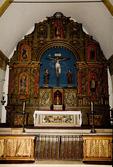 Main Altar of the Nave, Mission San Carlos Borromeo del Rio Carmelo