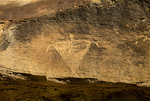 Basketmaker Petroglyph, Carrizo Canyon, San Juan Basin