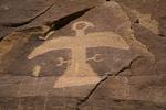 Eagle Petroglyph, San Juan Basin