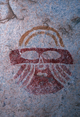 Painted Mask, Hueco Tanks State Historical Park