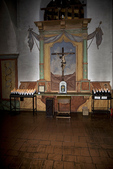 Altar dedicated to the Crucifixion, Mission San Juan Bautista