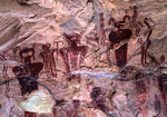 Thompson Wash Barrier Canyon Style Rock Art