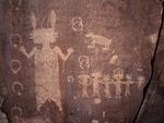Navajo Petroglyphs, San Juan Basin, New Mexico
