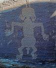 Petroglyph, Cottonwood Wash, Arizona