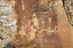 Navajo Rock Art, Carrizo Canyon Drainage, San Juan Basin