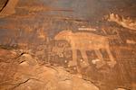 Potash Road Bear Petroglyph