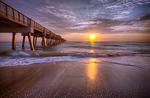 Sunrise, Juno Pier, Florida
