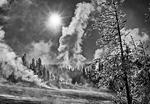 Winter Storm, Norris Geyser Basin, Yellowstone