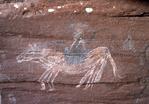 Southern Tiwa Rock Painting