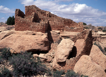 Round Boulder Tower and Big House, Cajon Ruin, Hovenweep National Monument