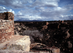 Little Ruin Canyon from Tower Point Ruin, Hovenweep National Monument