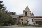 Bell Tower, Entrance to Basilica, Mission San Carlos Borromeo de Carmelo, Carmel, California