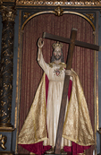 Christ Statue, Mission San Carlos de Carmelo, Carmel, California