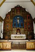 Main Altar and Sanctuary of the Basilica, Mission San Carlos Borromeo de Carmelo, Carmel, California