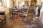 Sitting room, Mission San Carlos Borromeo de Carmelo, Carmel, California