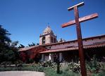 Serra Cross, Interior Courtyard, Mission San Carlos Borromeo de Carmelo