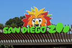 San Diego Zoo entry sign