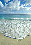 CURACAO WAVES AND FOOTPRINTS