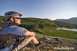 Tim Killen Mountain Biking near Marias Pass on the Lewis and clark National Forest of Montana model released