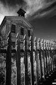 Mason Lodge at Bannack State Park in Montana