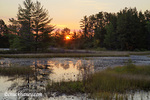 Small lake at sunrise at Seney National Wildlife Refuge in the UP of Michigan