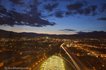 Looking at downtown Reno, Nevada, USA at Dusk