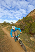 Mountain biking the Kokopelli Trail Loops near Fruita, Colorado, USA model released