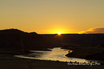 Sunrise over the Missouri River at the Upper Missouri River Breaks National Monument, Montana, USA