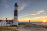 Big Sable Point Lighthouse on Lake Michigan at Ludington State Park, Michigan, USA