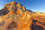 Sandstone formations at the White Pocket in the Vermillion Cliffs National Monument, Arizona, USA