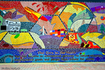 Gate to the Future, Mosaic at the Port of Houston