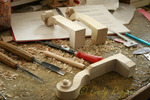 Tools of the trade - a violin maker's workshop