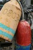 Weathered buoys