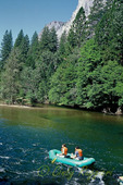 Rafting on the Merced River, Yosemite National Park, CA