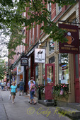Street Scene, Cooperstown NY