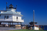Hooper Strait Lighthouse, Chesapeake Bay Maritime Museum, St. Michael's, Maryland