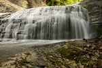 Buttermilk Falls, Ithaca NY, south of Cayuga Lake