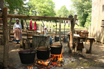 Dyeing Yarn, Old Sturbridge Village, Sturbridge, Massachusetts
