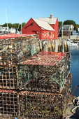 Lobster traps and motif #1, Rockport Massachusetts
