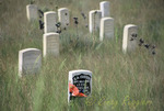 Little Bighorn Battlefield, Montana, General Custer headstone