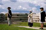 Reenactors at Fort Stanwix National Monument, Rome, New York