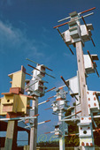 High-rise birdhouses