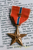 Army Medal, Bronze Star with Valor, Vietnam War