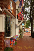 Street scene, Manteo North Carolina