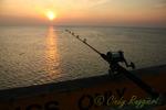 Sunrise on Nags Head Pier, North Carolina