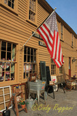 The Town Trader antique shop, oldest building in Chepachet, Rhode Island
