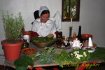 Herbalist at the Heritage Festival, Great Road, Lincoln Rhode Island
