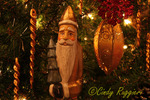 Antique Santa ornament