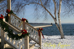 Christmas on the shore of Skaneateles Lake, NY